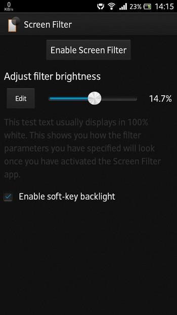 Screen Filter bao ve mat vao ban dem