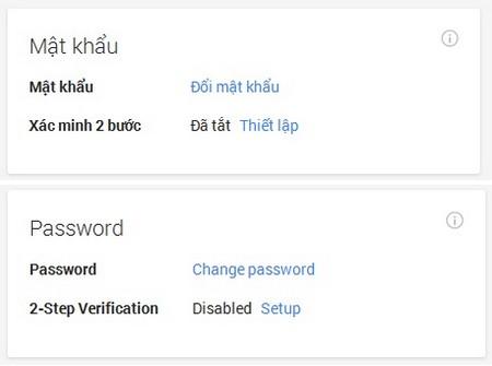 Hướng dẫn cách bảo mật tài khoản Gmail tuyệt đối tránh mất hay bị hack Gmail