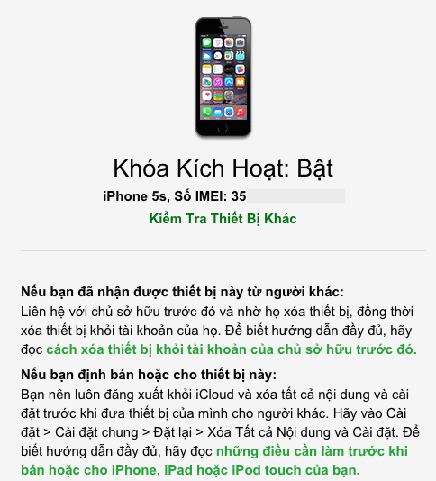 Kiem tra iPhone, iPad