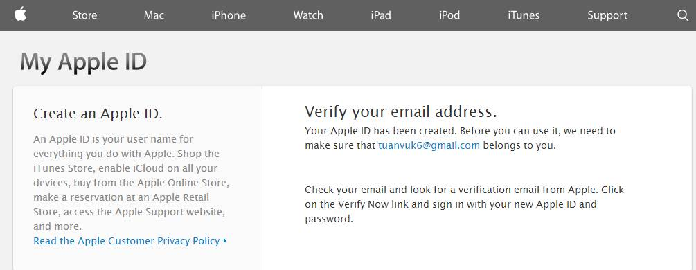 Tao Apple ID