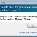 Cách tắt (Disable) User Account Control trên Windows 7/8/8.1