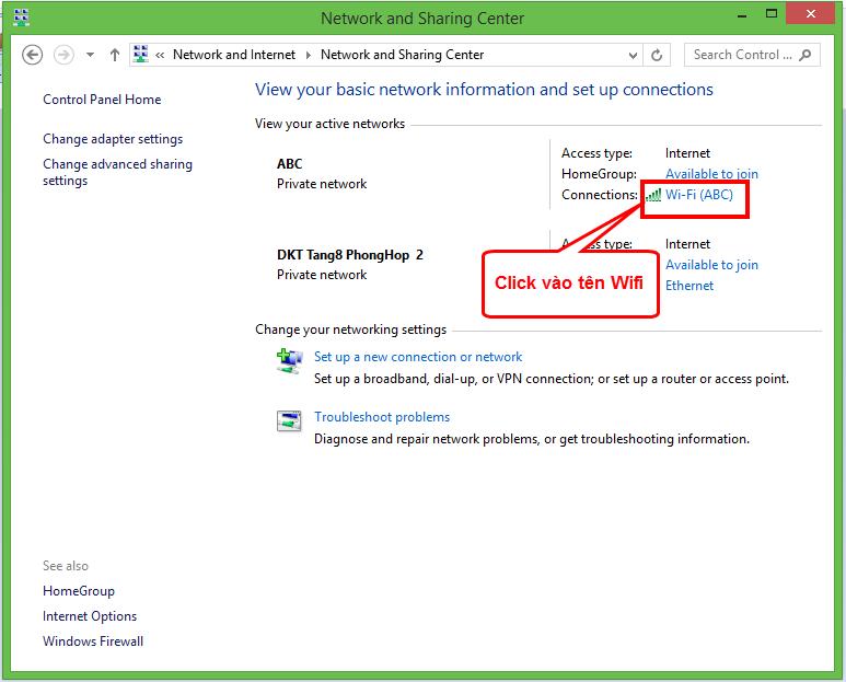 xem lai mat khau da luu tren Windows 8.1 2