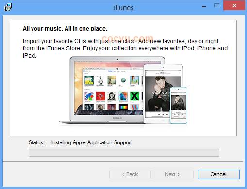 Cach cai dat itunes cho windows 2
