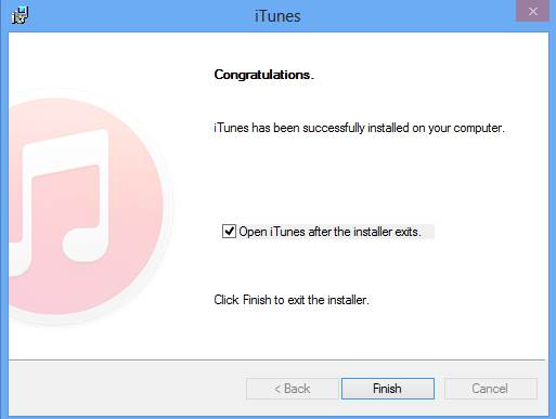 Cach cai dat itunes cho windows 3