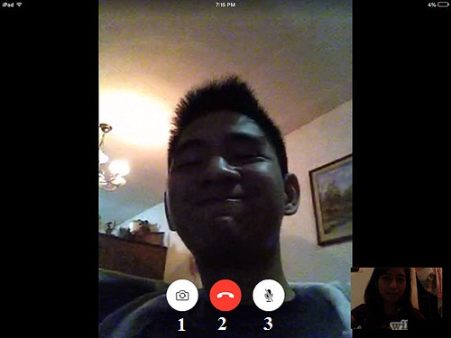 Cach su dung FaceTime 2