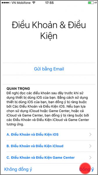 Hướng dẫn chi tiết cách khôi phục dữ liệu iPhone, iPad từ iCloud 8