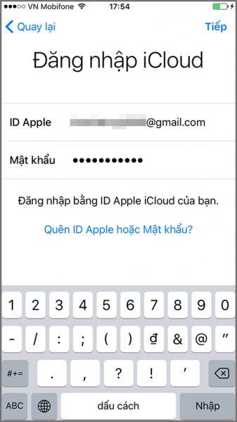 Hướng dẫn chi tiết cách khôi phục dữ liệu iPhone, iPad từ iCloud 9