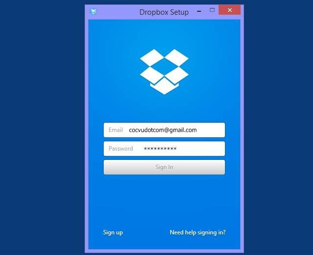 Hướng dẫn cách cài đặt và sử dụng Dropbox trên máy tính 2
