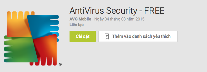 ung dung diet virus tot nhat cho Android 4