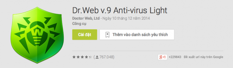 ung dung diet virus tot nhat cho Android 7