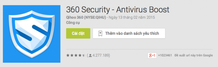 ung dung diet virus tot nhat cho Android