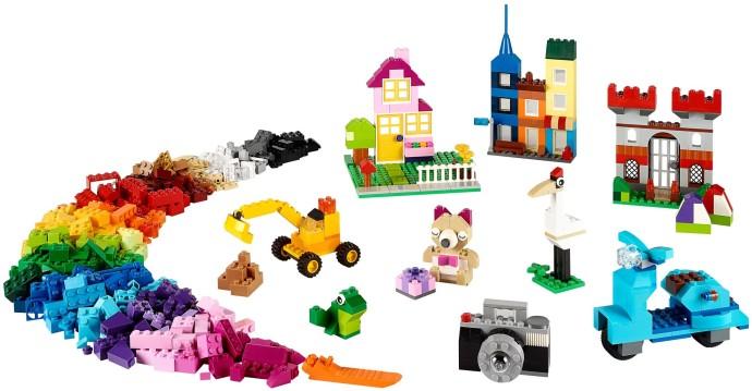 Thành phẩm khi lắp ghép xong từ Lego