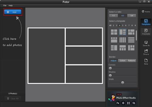 Hướng dẫn cách sử dụng phần mềm ghép ảnh Fotor cho người mới 2