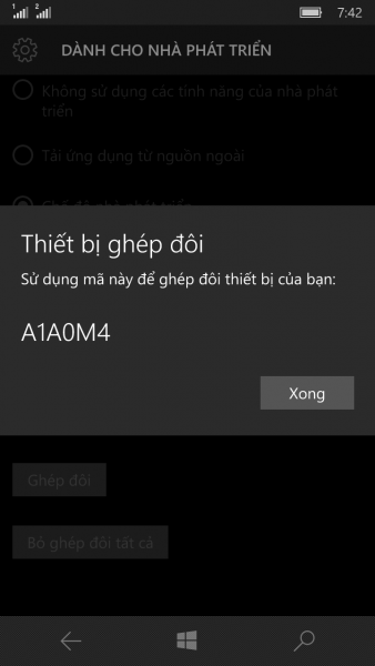 cach cai dat ung dung android len windows 10 mobile