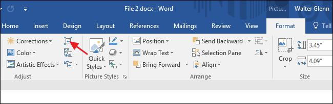 Hướng dẫn cách làm giảm kích thước tài liệu Word Office chứa hình ảnh 2
