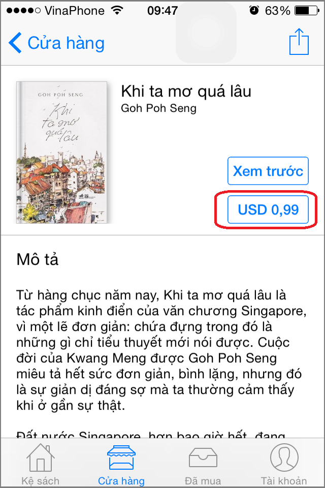 cach mua ung dung tra phi tren Appstore 1
