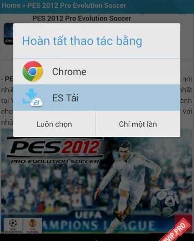 cach cai dat game cho Android file Apk co full data obb 2
