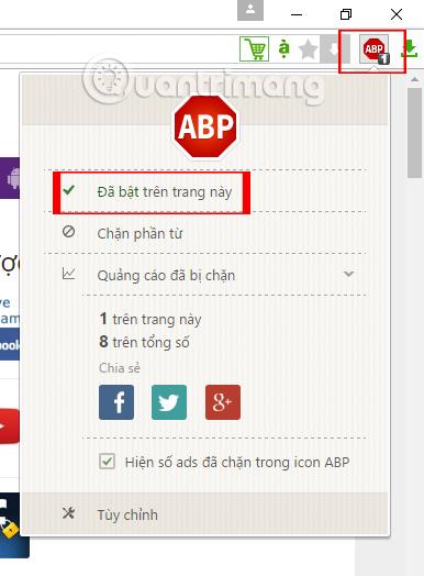 Hướng dẫn cách chặn quảng cáo trên Cốc Cốc với Adblock Plus miễn phí