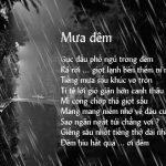Sưu tầm những câu nói hay về mưa buồn sâu lắng bạn nên đọc
