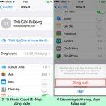 Cách đăng xuất, thoát tài khoản iCloud, Apple ID trên iPhone, iPad