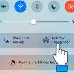 Tính năng AirDrop là gì? Cách sử dụng AirDrop trên iPhone, iPad
