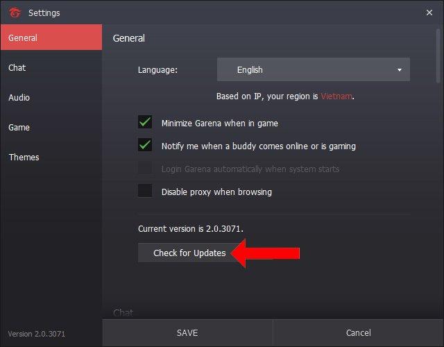 cách khắc phục lỗi trên FIFA Online 4 4