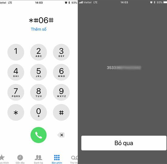 kiểm tra thời gian bảo hành chính hãng iPhone 1