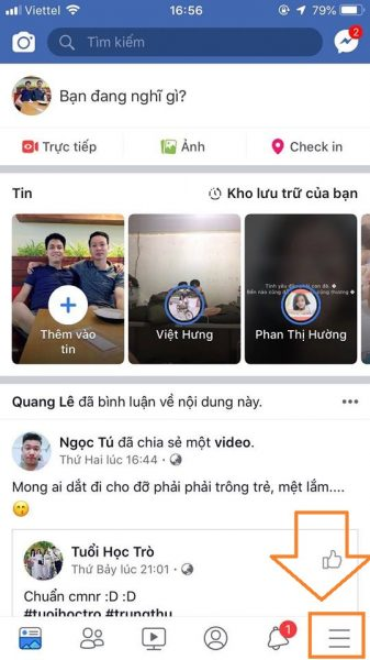 cách đăng ảnh chất lượng HD trên facebook cho iOS 1