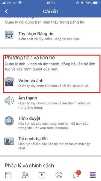 cách đăng ảnh chất lượng HD trên facebook cho iOS 3