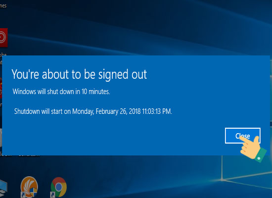 Hướng dẫn cách hẹn giờ tắt máy tính trên Windows 10 2