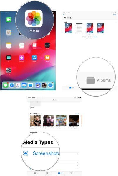 Hướng dẫn chụp ảnh màn hình trên iPad Pro 2018 mới nhất 1
