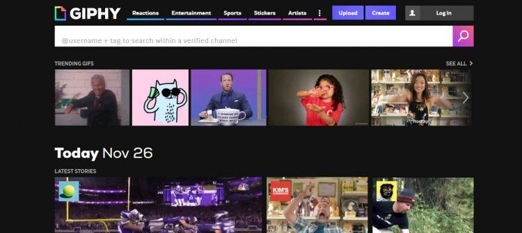 Hướng dẫn cách tạo ảnh Gif đơn giản trên trang web Giphy.com 1