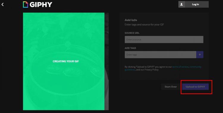 Hướng dẫn cách tạo ảnh Gif đơn giản trên trang web Giphy.com 5