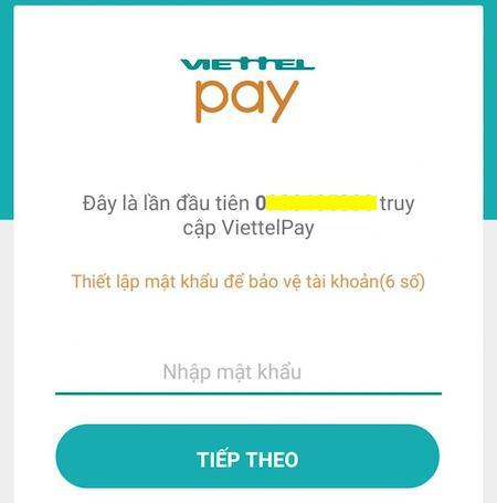Cách đăng ký Viettel Pay tạo thẻ Mastercard ảo để thanh toán Spotify 3