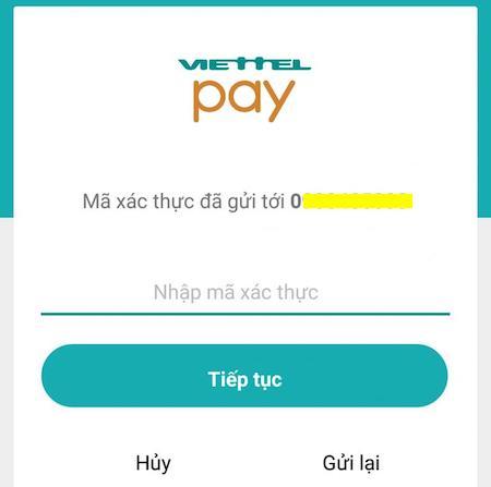 Cách đăng ký Viettel Pay tạo thẻ Mastercard ảo để thanh toán Spotify 4