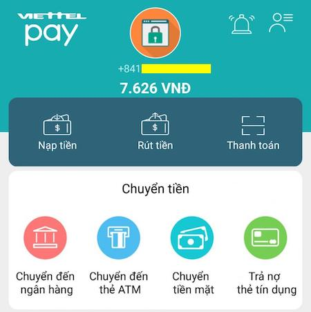 Cách đăng ký Viettel Pay tạo thẻ Mastercard ảo để thanh toán Spotify 5