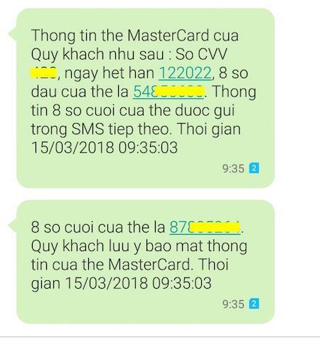 Tạo thẻ MasterCard ảo bằng ứng dụng ViettelPay 6
