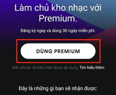 Cách tạo tài khoản Spotify Premium bằng thẻ mastercard ảo 2