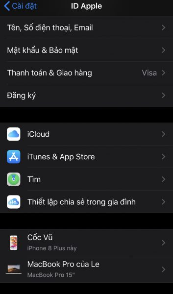 Hướng dẫn cách theo dõi tìm kiếm iPhone 1